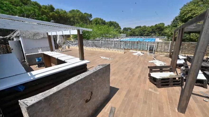 Vila-real reabrirá en días la cafetería de la piscina del Termet tras un año sin actividad