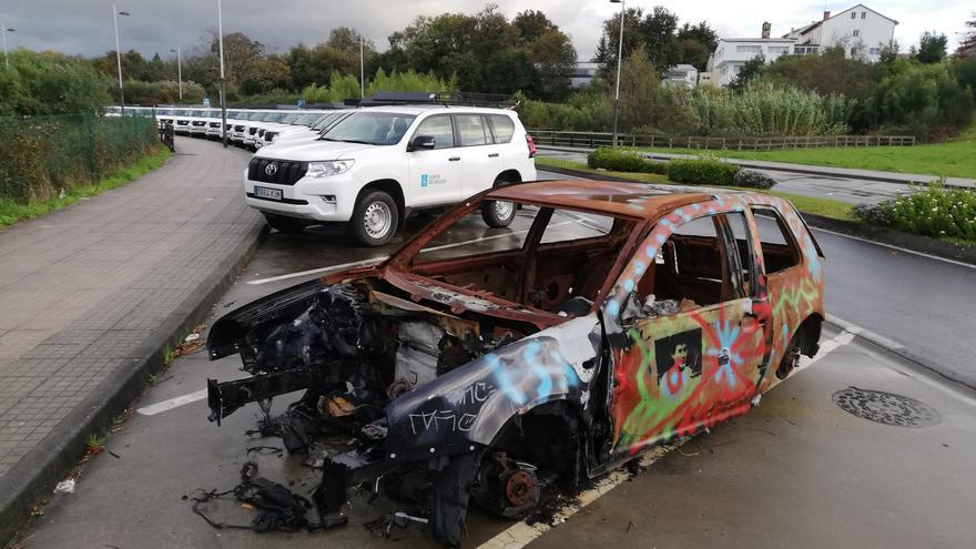 Retiran 15 vehículos abandonados en las calles