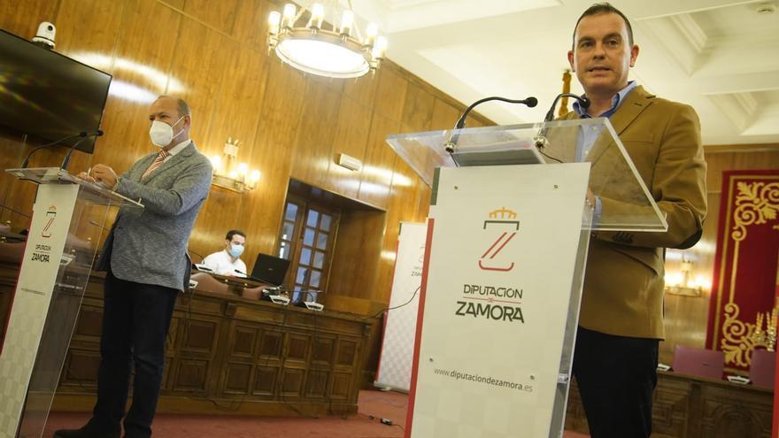 """La Diputación de Zamora presenta un presupuesto """"para impulsar la dinamización económica"""" en 2021"""