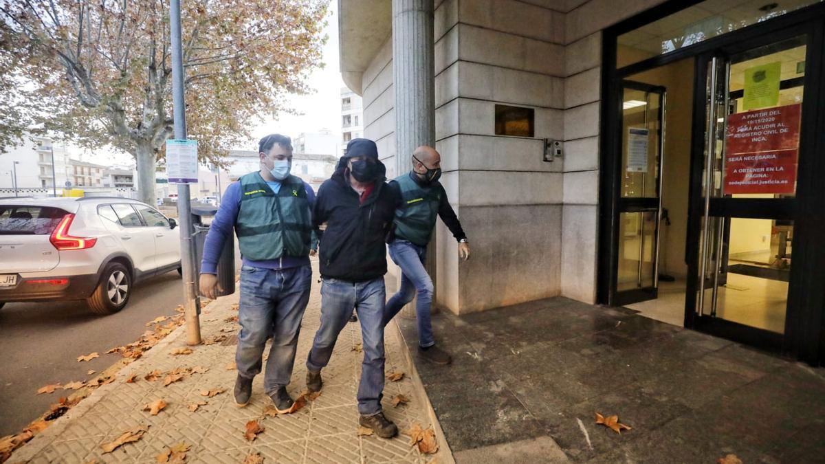 El investigado ha sido trasladado a los juzgados de Inca.
