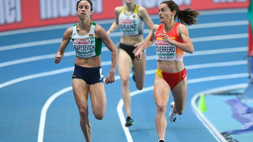 Esther Guerrero es classifica per a la final dels 1.500 a l'Europeu de Torun