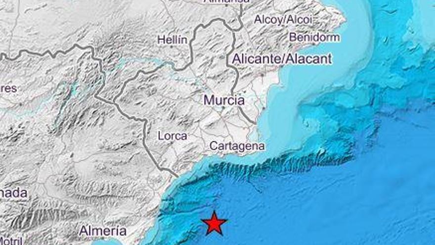Un terremoto de 3,4 grados en Cabo de Palos se deja sentir en Elche