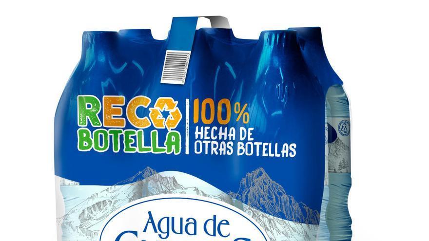 Agua de Cueva migra todos sus envases a materiales reciclados