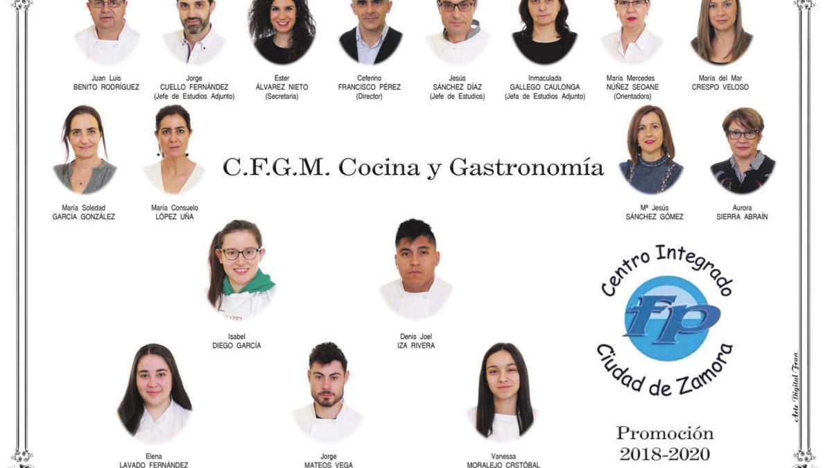 Descarga ya la orla del Grado de Cocina y Gastronomía del CIFP Ciudad Zamora