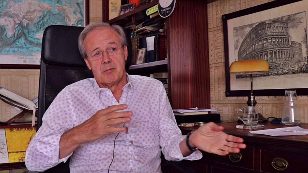 El ingeniero Carlos Soler.