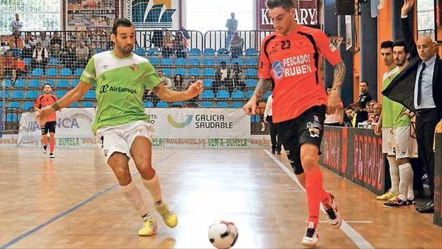 Estreno feliz del Palma Futsal