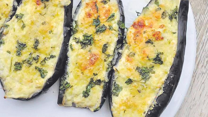 RECEPTA | Albergínies amb formatge