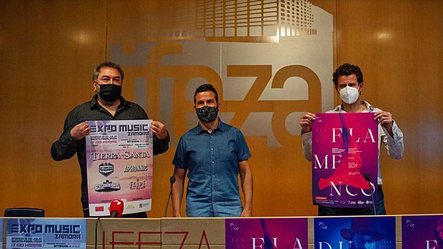 Ifeza vuelve a ser escenario de la música con rock y flamenco en Zamora
