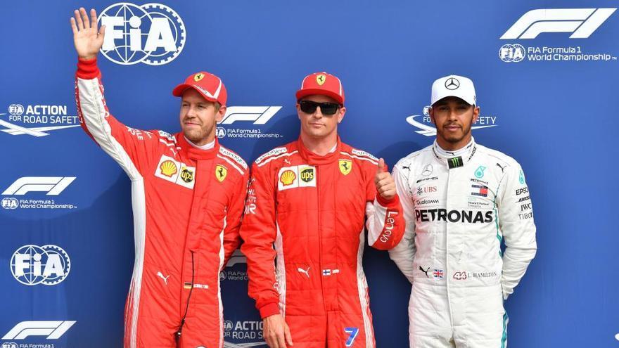 Raikkonen sorprèn Vettel i Hamilton a Monza