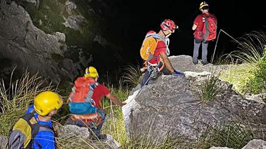 Rescatan a un excursionista desorientado en Escorca