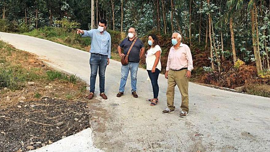 El Concello de Marín, vecinos de Pardavila y la CCMM de San Xulián unen esfuerzos por un rural más poblado