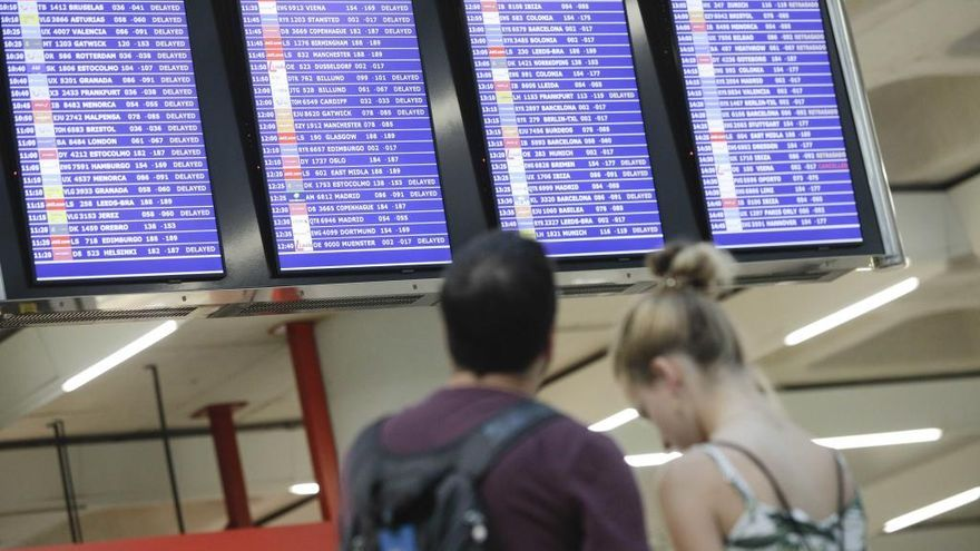 Treinta vuelos entre Barcelona y Palma, cancelados o retrasados por la sentencia del 'procés'