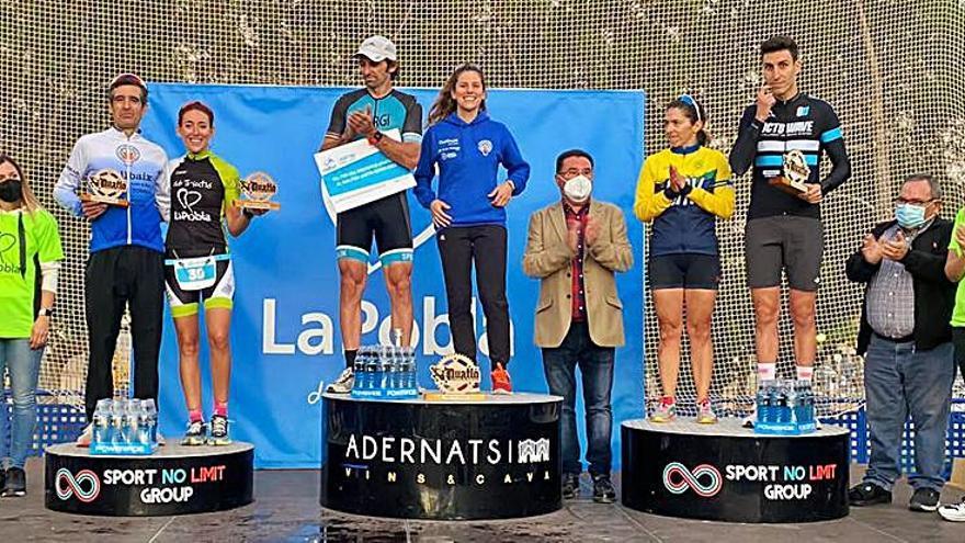 La Penya Ciclista Bonavista-Collbaix puja al podi en el duatló de muntanya Just Tri Series
