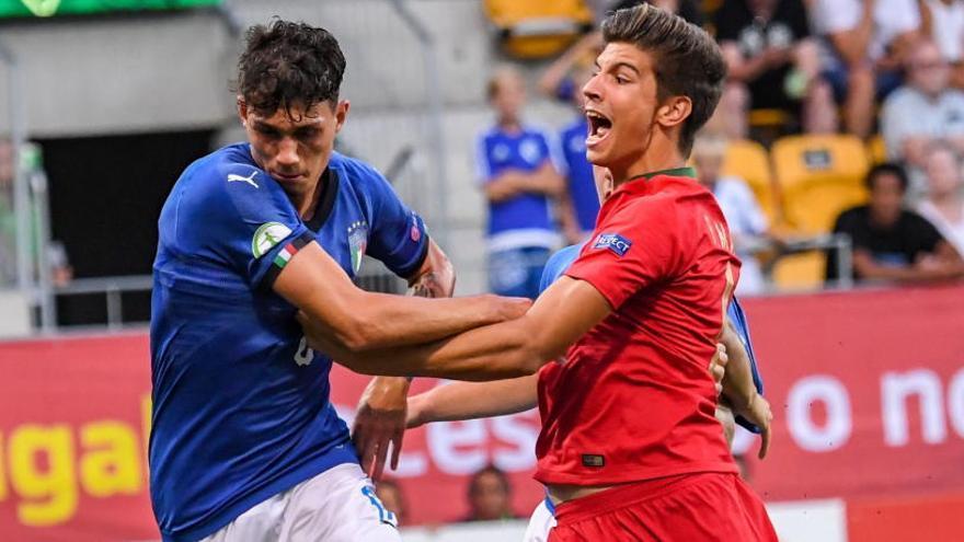 El deportivista Pedro decide para Portugal el título europeo sub 19