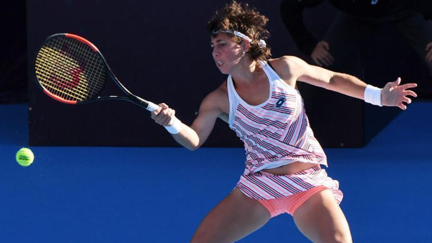 Carla Suárez cae ante Kerber en el Abierto de China