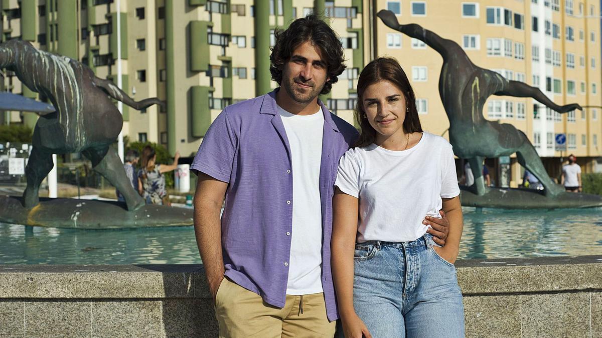 Antonio Rodríguez y Lucía Alonso.     // CASTELEIRO/ROLLER AGENCIA