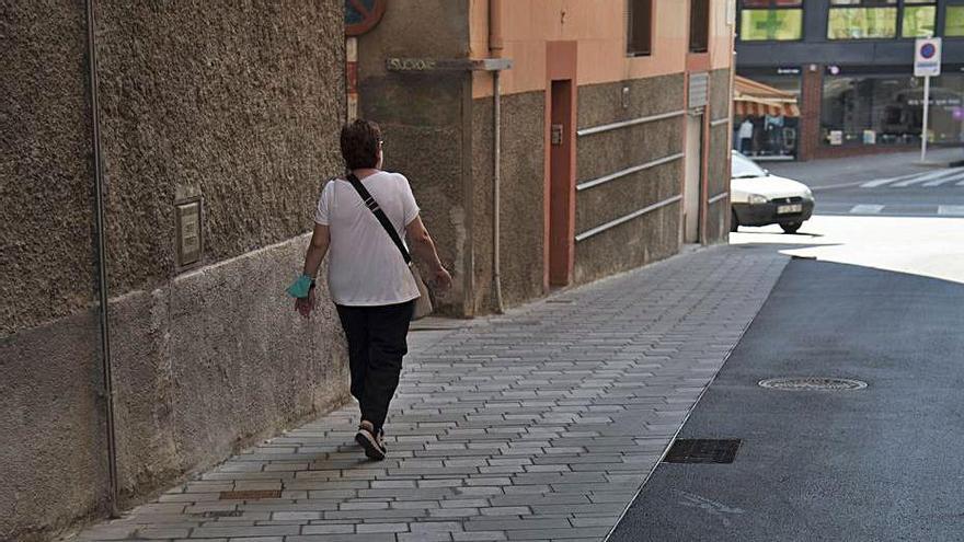 Comença la millora d'una vintena de voreres amb una inversió de 450.000 euros a Manresa
