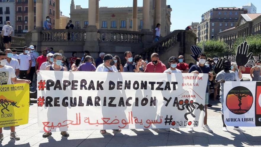 Manifestaciones en varias ciudades españolas piden la regularización de inmigrantes
