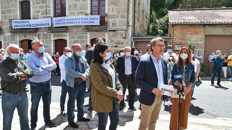 """""""O Alberto"""" arranca la campaña en su pueblo"""