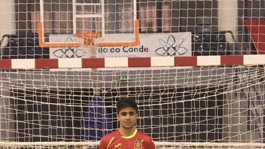 Fútbol Sala   David Novoa y Bruno Galindo, convocados con la Sub-19