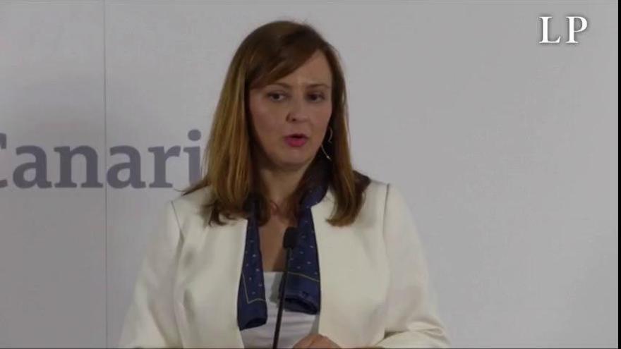 Nieves Lady Barreto (CC) espera un acuerdo con el PP en el Cabildo palmero