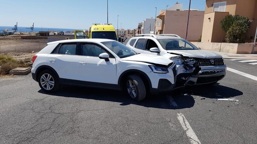 Detenido un conductor sin carné que estuvo involucrado en un accidente en Puerto del Rosario