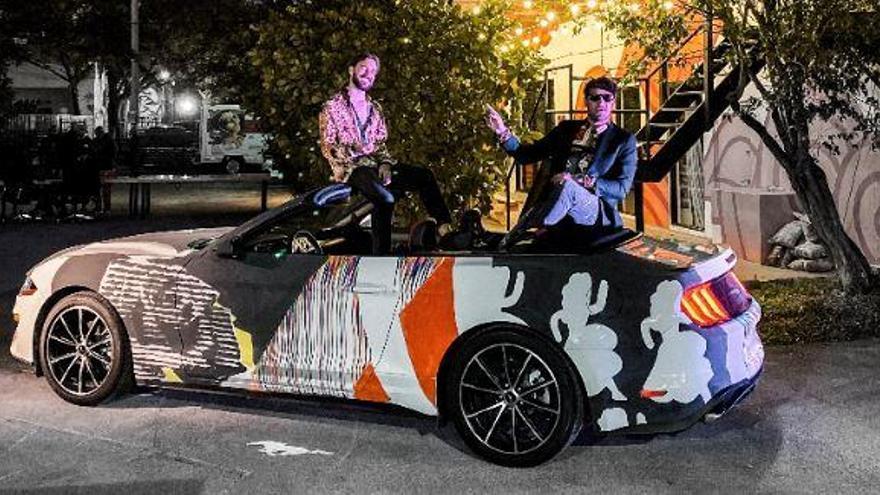 El duo Fert & Dase celebra deu anys de trajectòria artística al Miami Art Basel