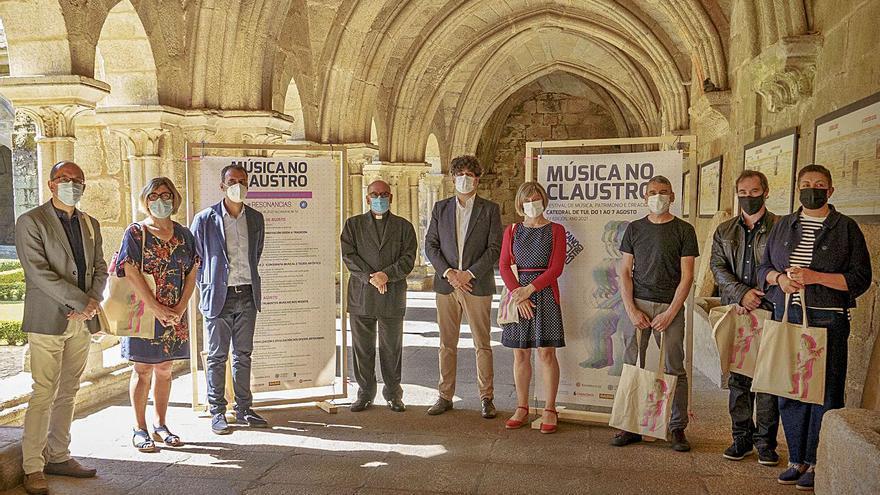 La Catedral de Tui se llenará de melodías con el festival 'Música no claustro'