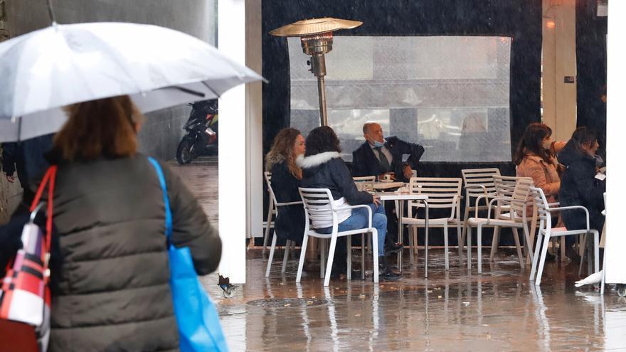 Una borrasca atlántica dejará precipitaciones en la Región a partir del miércoles