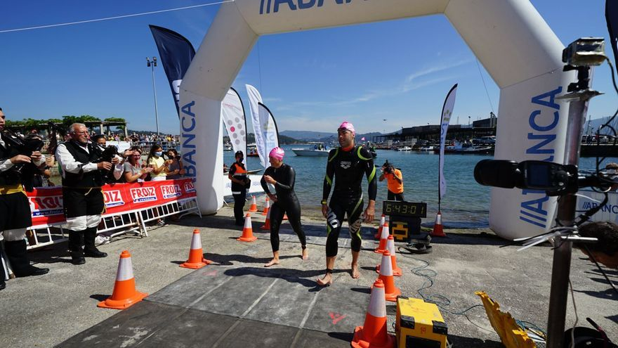 Alberto Taboada Vila y Andrea de la Hera Martín se imponen en la tercera prueba de la Triple Corona Illas Atlánticas