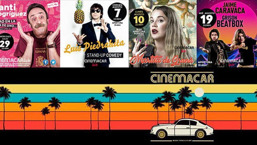 Consulta los monólogos que no te puedes perder en el mes de agosto en Cinemacar