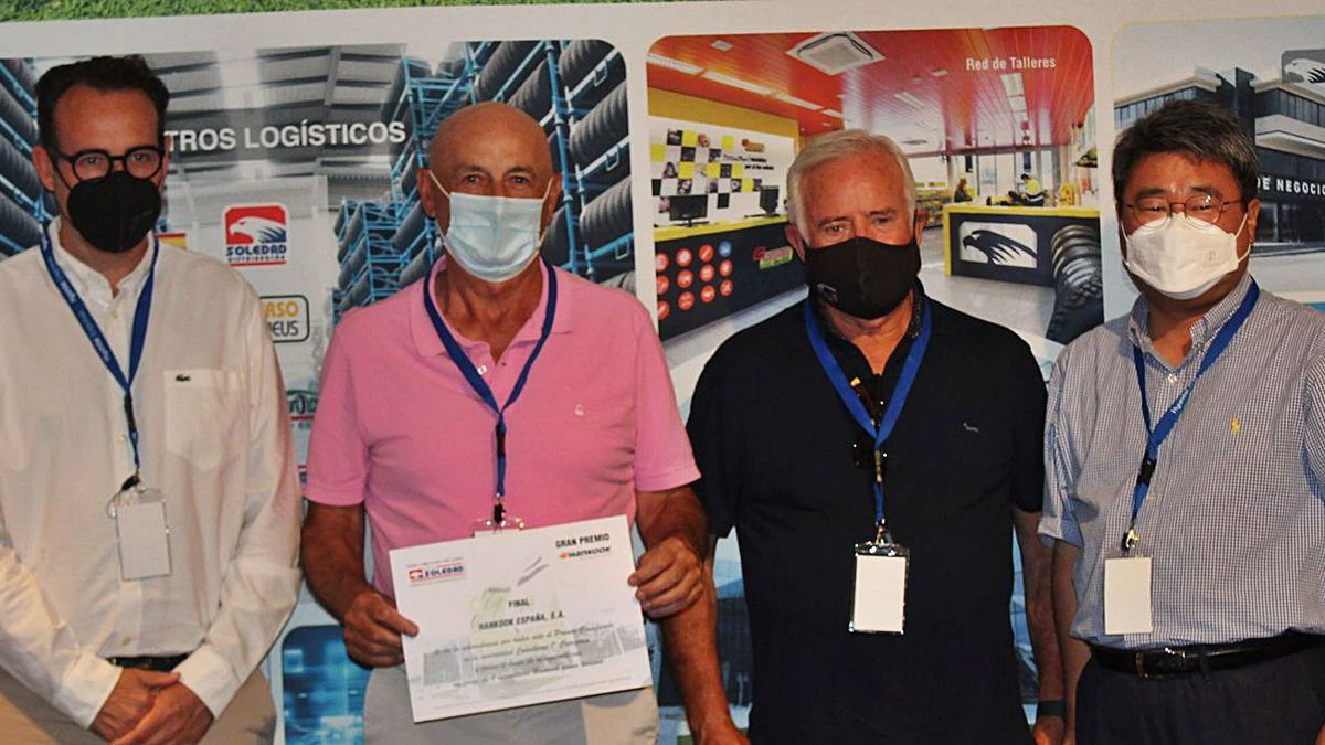 Ganador de primera categoría, Vicente Francisco Juan Espert.   ANA GIL