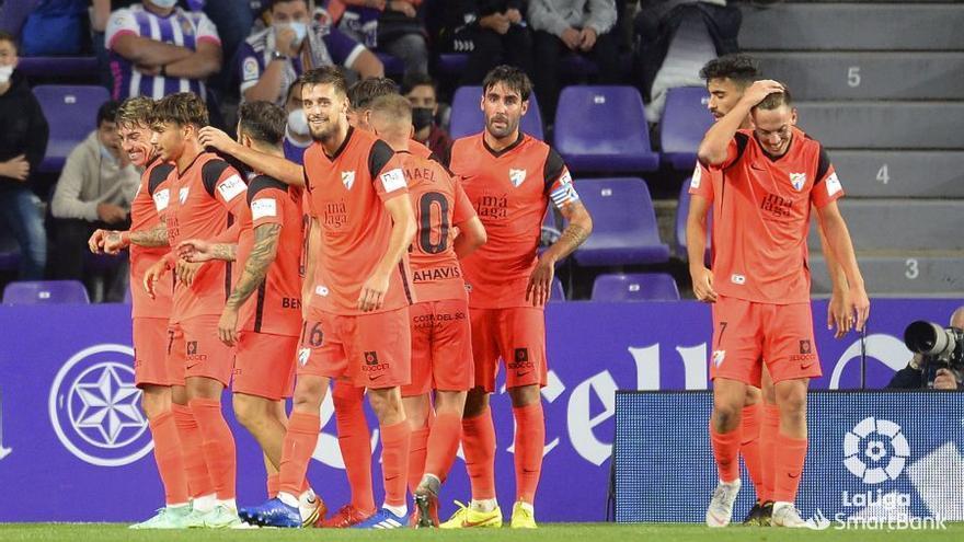 El Málaga CF termina la jornada en 11ª posición