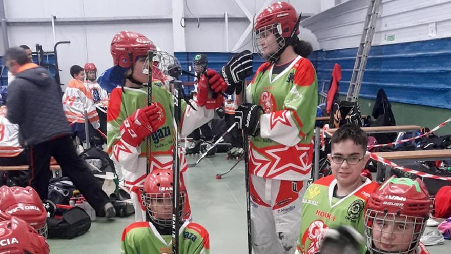 Los infantiles del Hockey Zamora se mantienen novenos