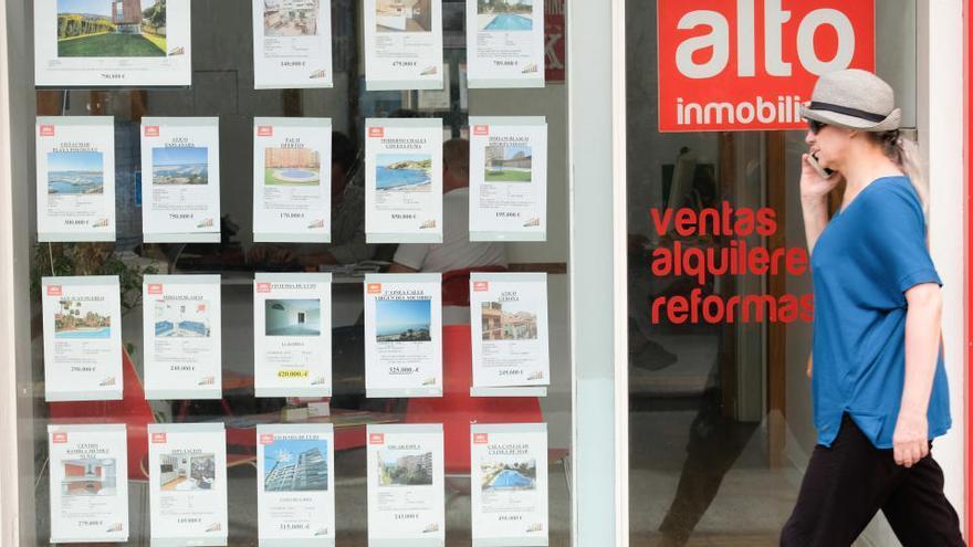 La firma de hipotecas sobre viviendas cae un 5,9% en octubre