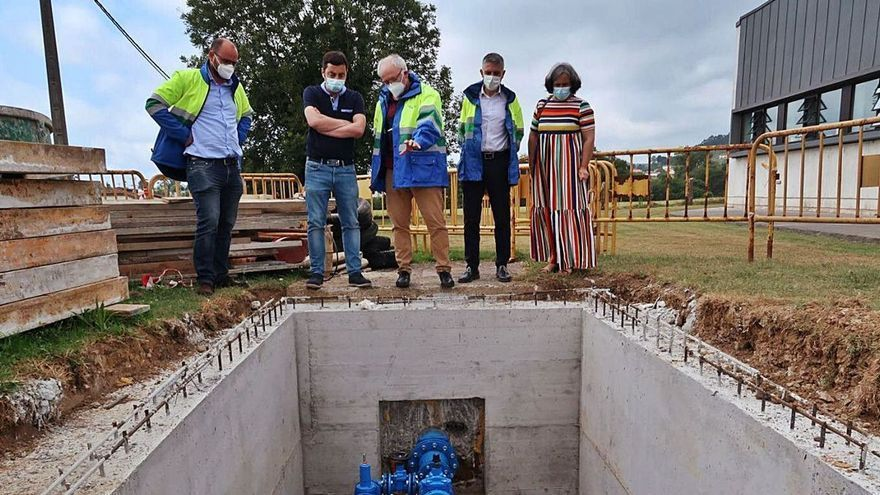 Llanera reacondiciona el servicio de abastecimiento de agua potable en Lugo