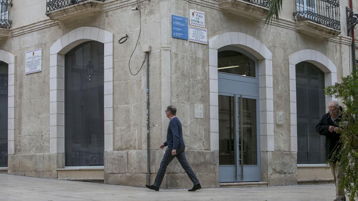 Imagen de la sede del Patronato de Vivienda de Alicante