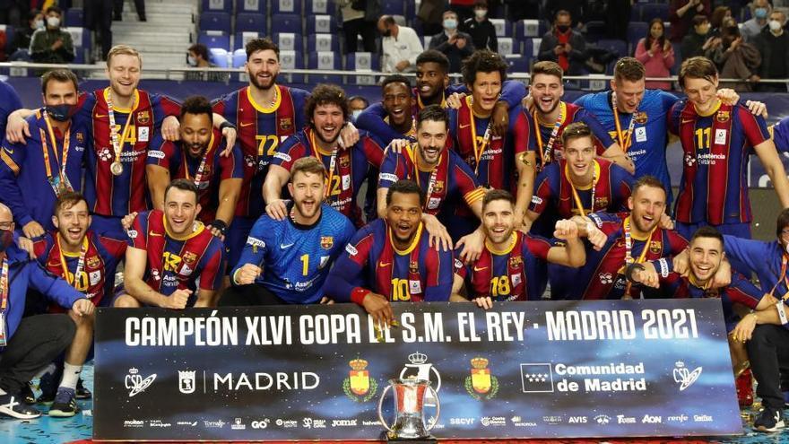 El Barça tumba al Ademar y conquista la Copa