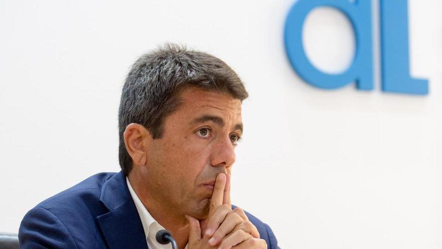 Mazón asistirá al pleno de investidura de Santiago Román como alcalde de Sant Joan