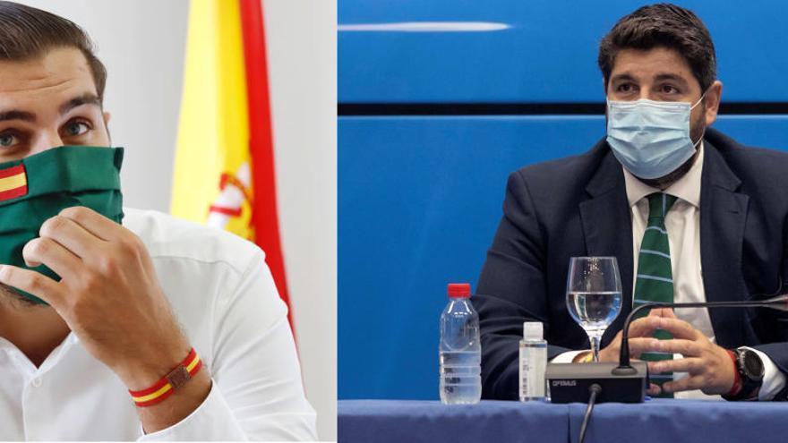 Vox estudiará con lupa los futuros acuerdos con el PP en Murcia