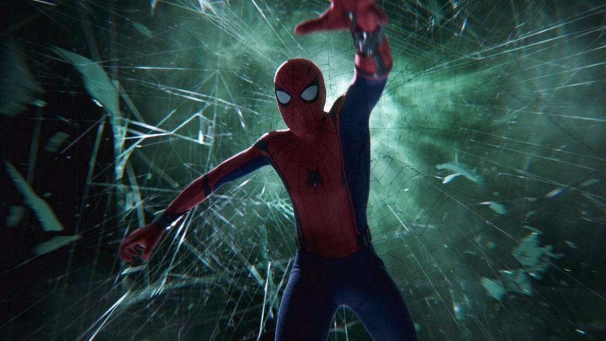Tom Holland en 'Spider-Man: Lejos de Casa'.