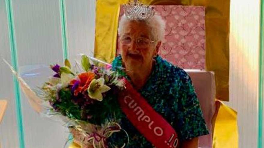 Catalina Bujosa Jaume de Montuïri alcanza los 103 años