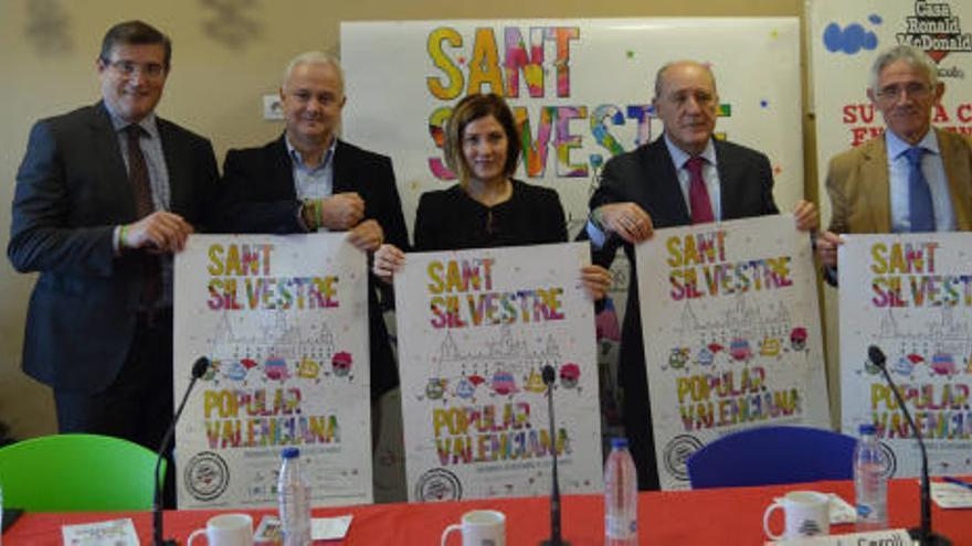 18.000 dorsales solidarios en la San Silvestre de Valencia