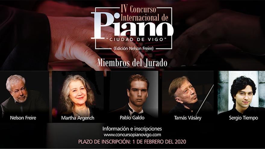IV Concurso Internacional de Piano Ciudad de Vigo (Edición Nelson Freire) - Online