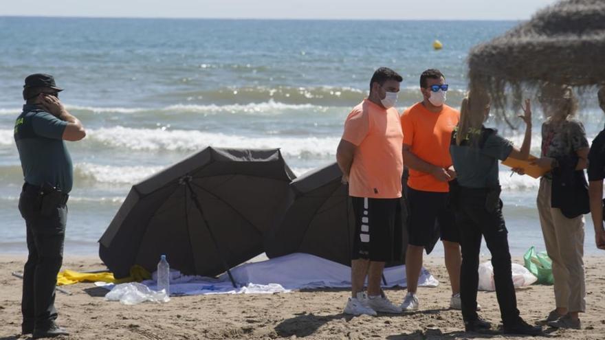 Muere ahogada una mujer de 70 años en la playa de la Patacona