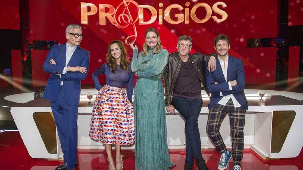 El jurado de la pasada edición de 'Prodigios'.