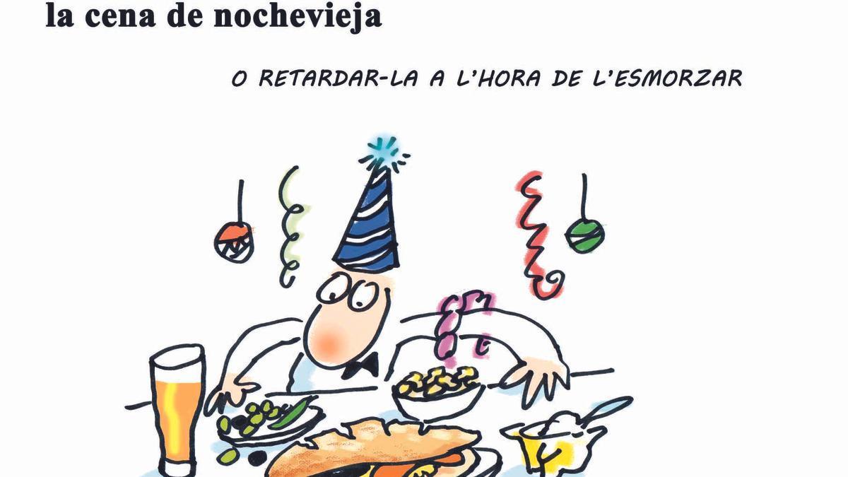 La hostelería propone adelantar al mediodía la cena de Nochevieja