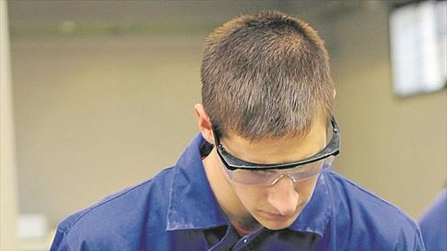 La industria reclama más formación dual para tener personal cualificado