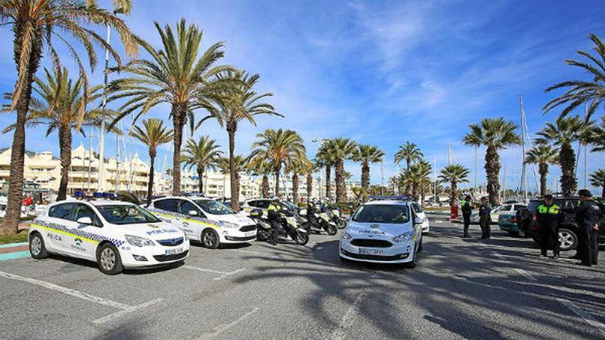 La Policía Local de Benalmádena abre en febrero más de 500 actas por incumplimiento de las restricciones de movilidad