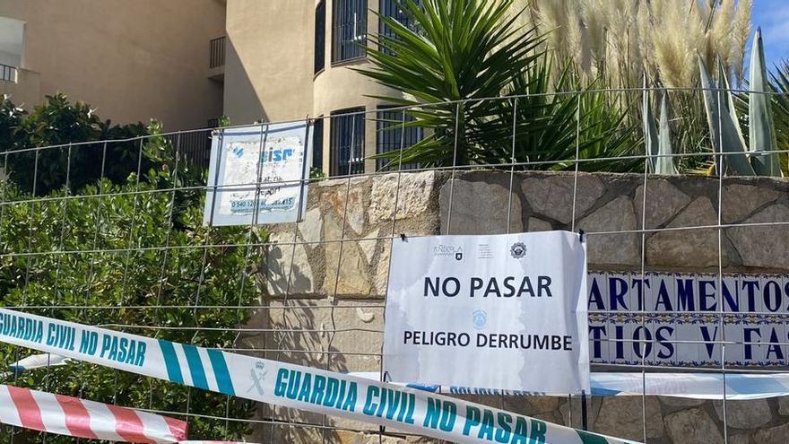 Las tres familias afectadas por el derrumbe de Peñíscola ya tienen las nuevas viviendas